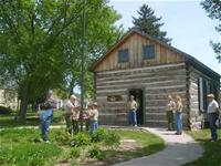 Log Schoolhouse